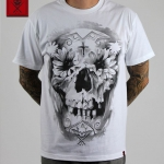 Футболка Sullen Flower Skull White