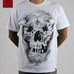 Футболка Sullen Flower Skull White