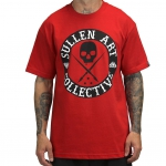 Футболка Sullen All Day Badge Red