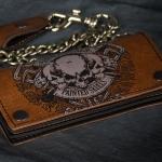 Кошелек Байкерский Painted Skulls Sinner