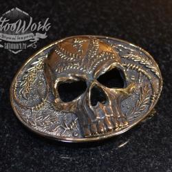 Пряжка Skull Barbwire
