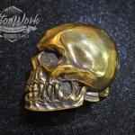 Пряжка Dead Head