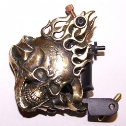 "Тату машинка ""Fire Skull"" - RTE"