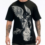 Футболка Fallen Angel Black (Sullen Clothing)