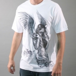 Футболка Fallen Angel White (Sullen Clothing)