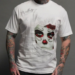 Футболка Gustavo White (Sullen Clothing)